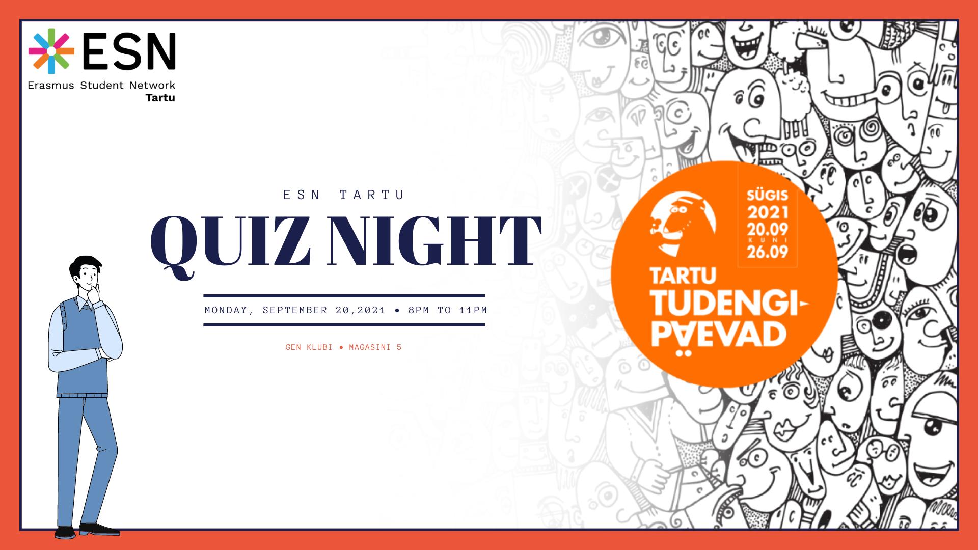 ESN Tartu Quiz Night